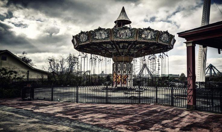 Six Flags Jazzland: El tétrico parque de diversiones abandonado | Supercurioso