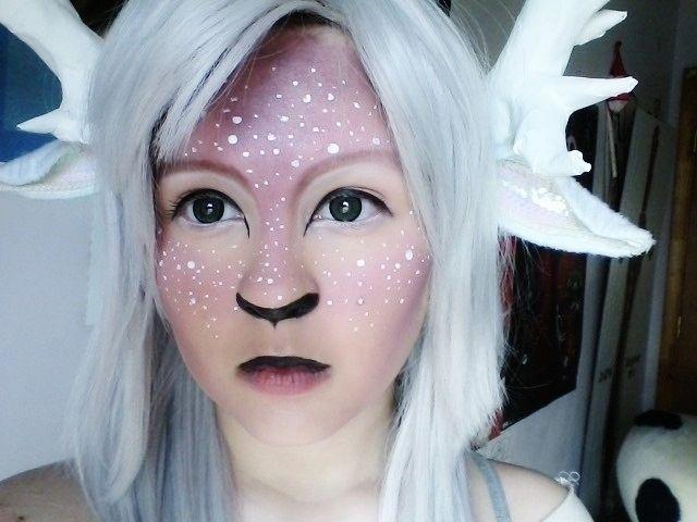 White Fawn Makeup 01 by ChristinaUshi on deviantART
