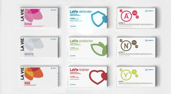 LAVIPHARM. Brand identity/packaging. by Stamatis Tsirdimos, via Behance