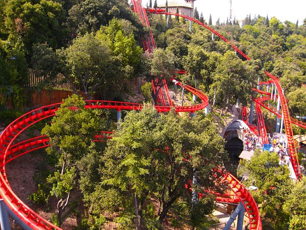 Tibidabo Amusement Park, Barcelona. Forget Disney World! Check out the Tibidabo Amusement Park in Barcelona for a fun family day out!Rebecca Haner