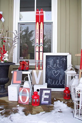 Valentine S Day Porch Ideas For The Home Pinterest