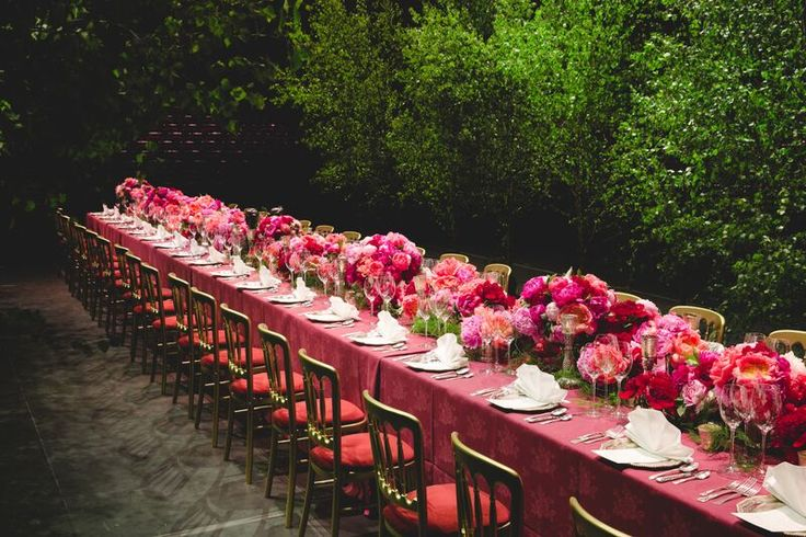 10,000 peonies for an incredible Heston Blumenthal charity dinner at the Royal Albert Hall