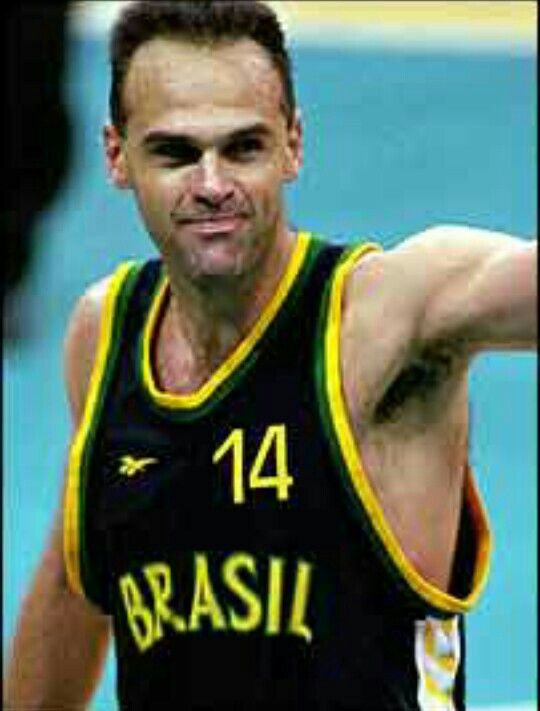 Oscar Daniel Bezerra Schmidt (born February 16, 1958) is a retired Brazilian professionalbasketball player. He is also known as Oscar Schmidt Bezerra in Spain, where he played for Fórum Valladolid for the 1993–94 and 1994–95 seasons, and simply Oscar, or Mão Santa (Holy Hand), in his homeland. Oscar played the small forward position, was 2.05 m (6 ft 8¾ in) tall and weighed 102 kg (225 lbs). He was born in Natal, Rio Grande do Norte, Brazil. He is unofficially considered to be the all-time…