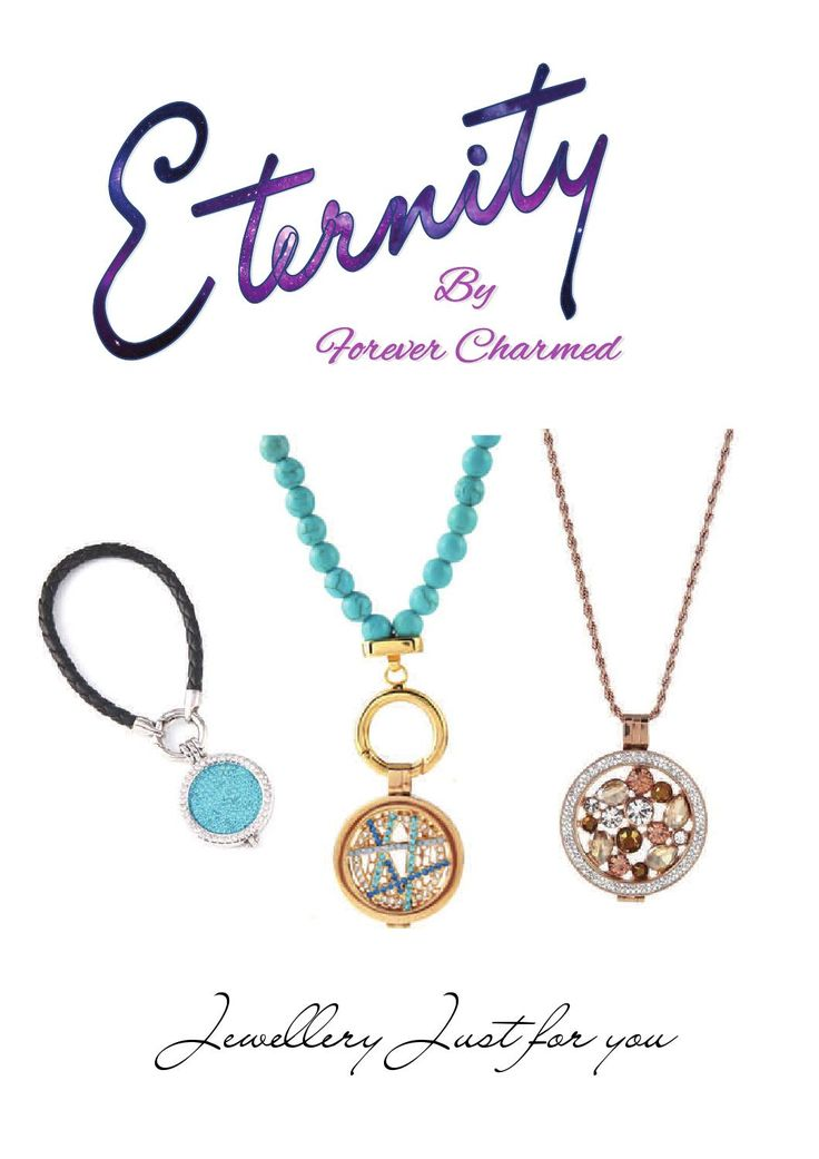 Introducing…  Eternity, a New interchangeable locket with feature Coins. https://www.facebook.com/ForeverCharmedJewellery