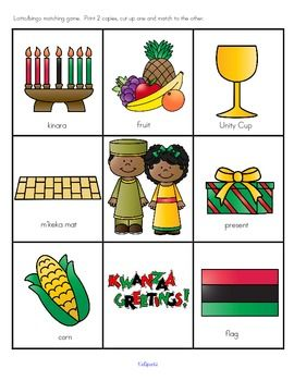 The teaching theme focus for this packet is KWANZAA. Pre-K Theme for a Day includes all the activities and printables (to make hands-on centers and games) that you need for a full day of teaching - and more. 25 pages
