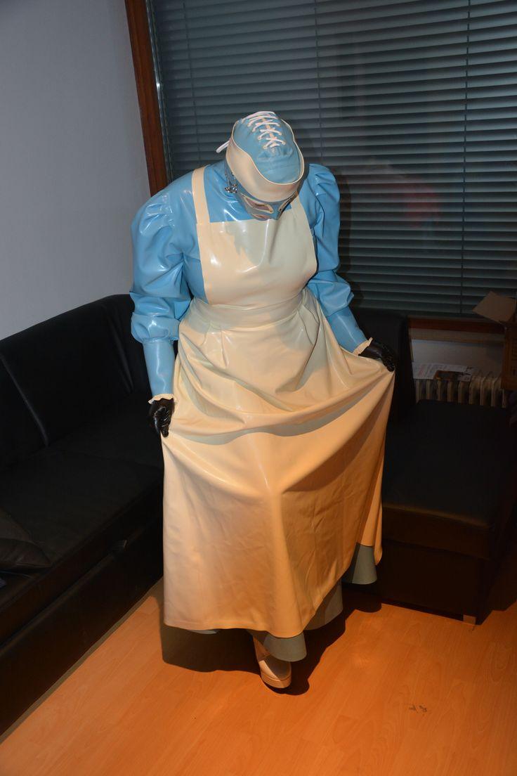 apron fetish pinafore