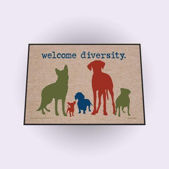 Diversity Welcome Doormat Best Sellers Pinterest Indoor