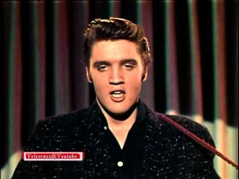 Elvis Presley - Blue Suede Shoes 1956 LIVE (COLOR and STEREO)  .. Just plain awesome...struttin' his stuff!!