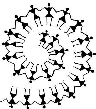 Индийский орнамент MO
