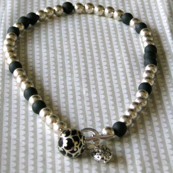 Two tone Harmony ball necklace