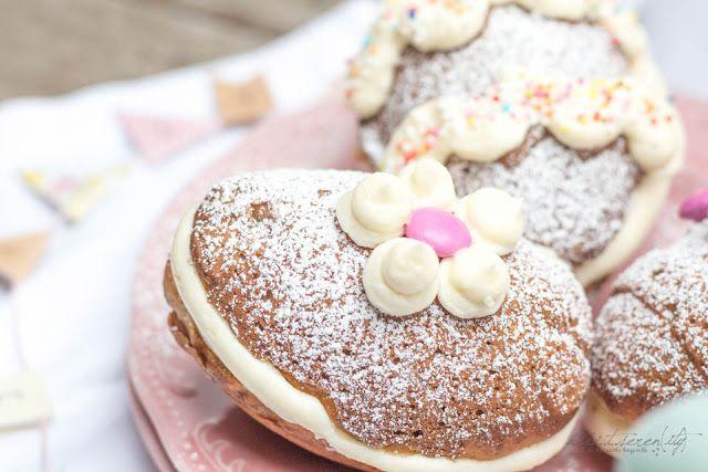Oster-Bananen Whoopie Pies mit Vanillecreme