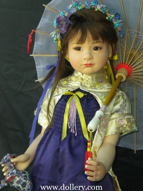 """Nabari"" Dolls by Maja Bill $1,500.00 (sold in 2011)"