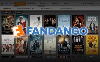Fandango Movies app - times and tickets