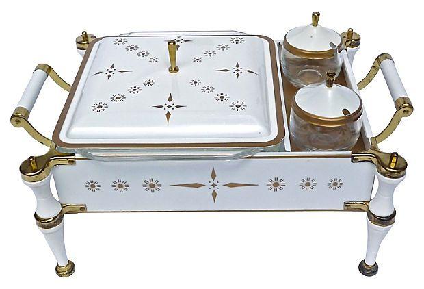 Chafing Dish Warmer, 3 Pcs on OneKingsLane.com