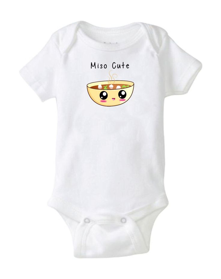 Miso Cute Hipster Pigment Ink Printed Onesie Cool Baby Gifts geek nerdy Japanese sushi smart baby shower gift stocking stuffer cute funny by AppalachianBeards on Etsy https://www.etsy.com/listing/230343657/miso-cute-hipster-pigment-ink-printed