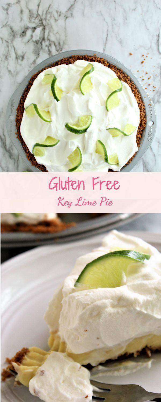 The Best Gluten Free Key Lime Pie Recipe In 2020 Gluten Free Key Lime Pie Gluten Free Graham Cracker Crust Gluten Free Graham Crackers