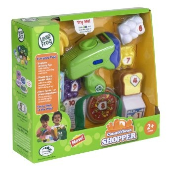 Amazon.com: LeapFrog Count And Scan Shopper: Toys & Games