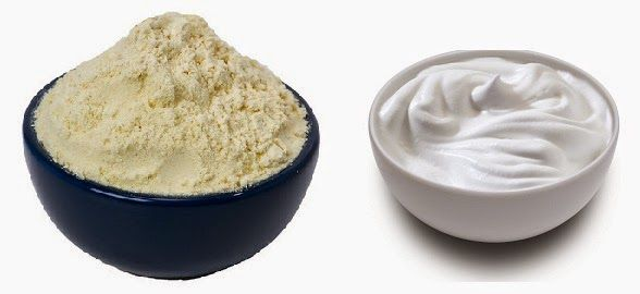 curd and gram flour face pack for summer