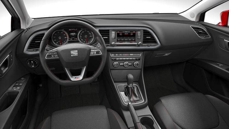 SEAT Česká republika - Nový Leon - Interier