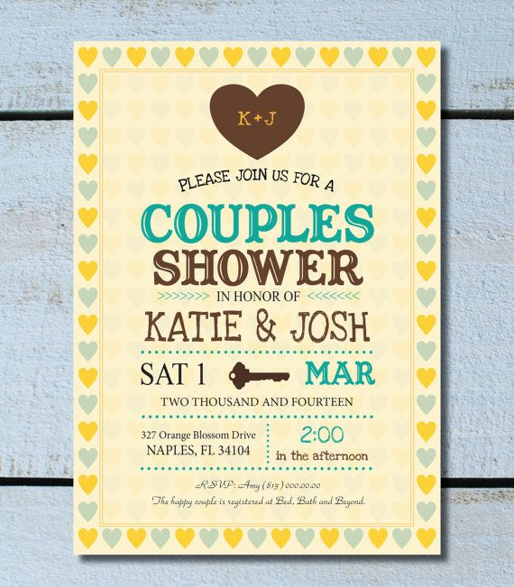 best jack and jill baby shower images on   parties, Baby shower invitation