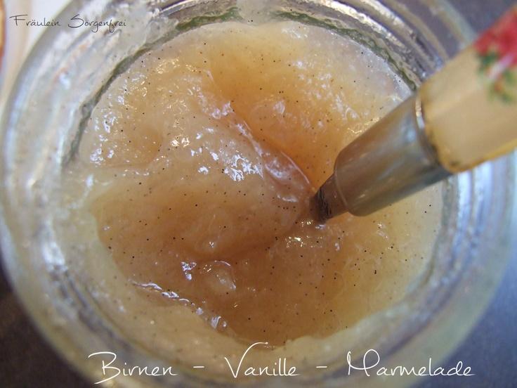 Birnen-Vanille-Marmelade