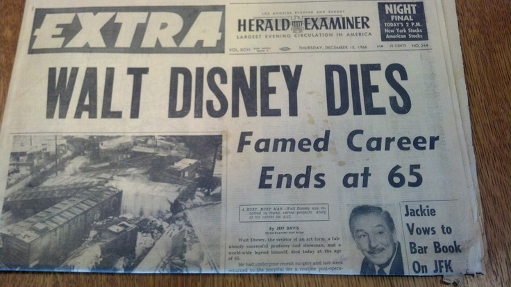 news piece of writing about disney