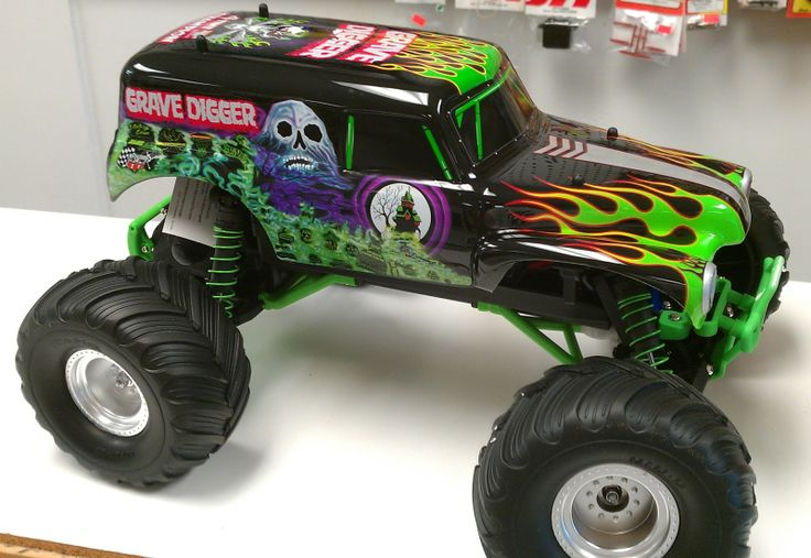 traxxas grave digger fast | XRC HOBBY BLOG MALAYSIA