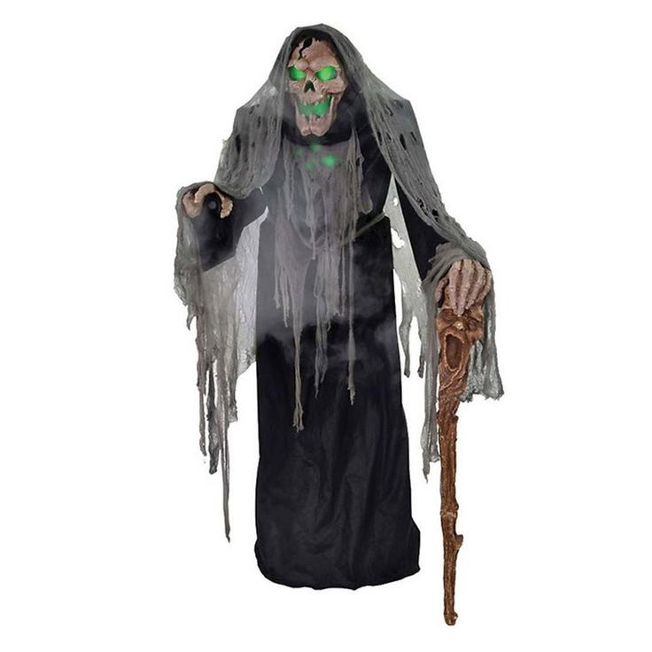 morris costumes pestilence the smoldering reaper mr 124219 the home depot - Animated Halloween Decorations