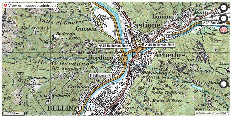 Gorduno TI Unfall Verkehr Tote Statistik http://ift.tt/2AtCZ35 #maps #schweiz