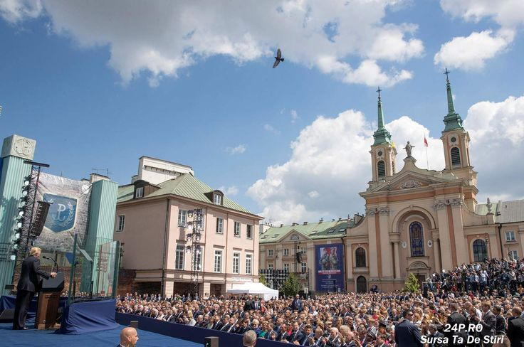 "Donal Trump in Polonia:""Occidentul nu va fi infrant niciodata"""