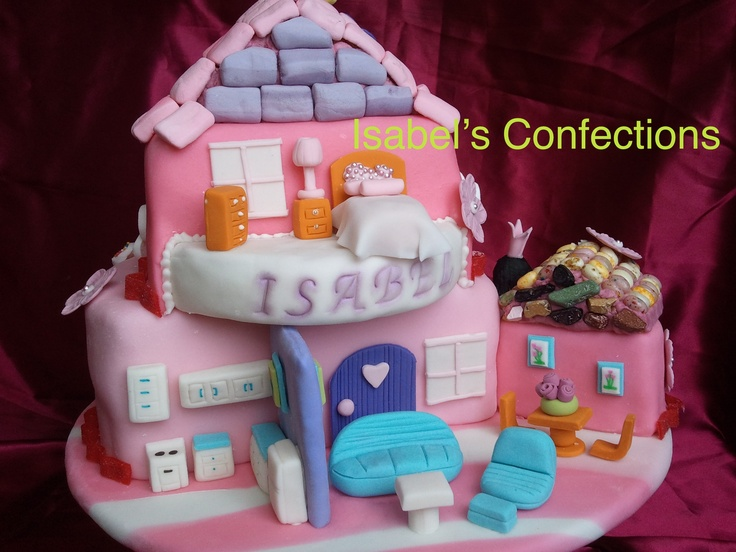 Doll House Cake Images : 17 Best images about CAKES by Isabel s Confections and ...