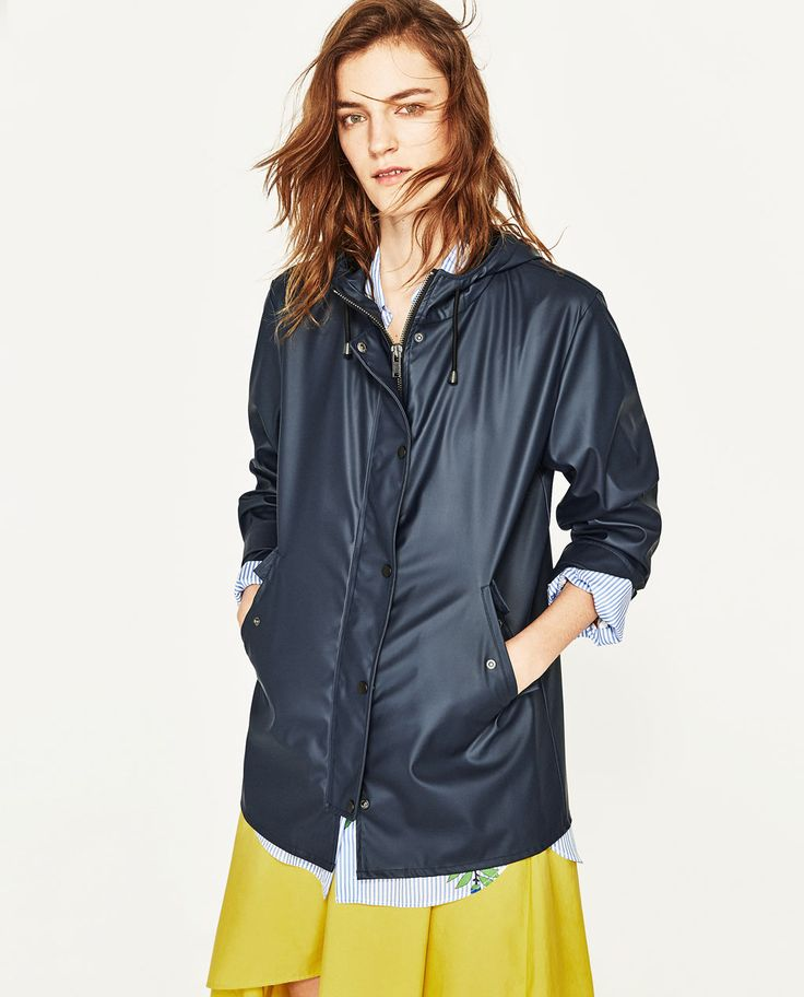 HOODED RAINCOAT-View All-OUTERWEAR-WOMAN | ZARA United States