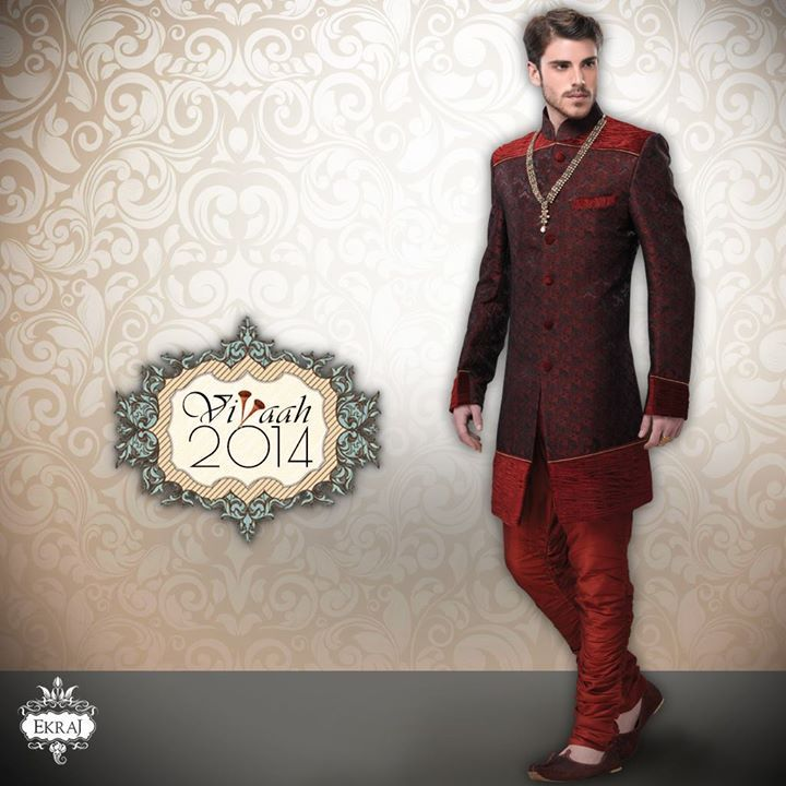 Take on the Electrifying colors & give your #Wedding Ensemble the right amount of Pop with our #Vivaah2014 collection!