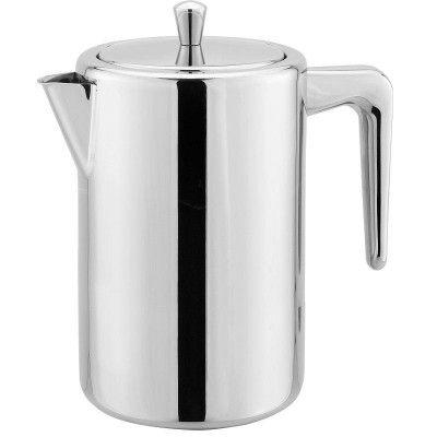 Cafetière à piston 1.0 litre avec double paroi de Cuisinox Modèle: COFPS11  http://411buyitnow.com/fr/cafetiere-a-piston-1-0-litre-avec-double-paroi-cofps11-de-cuisinox.html