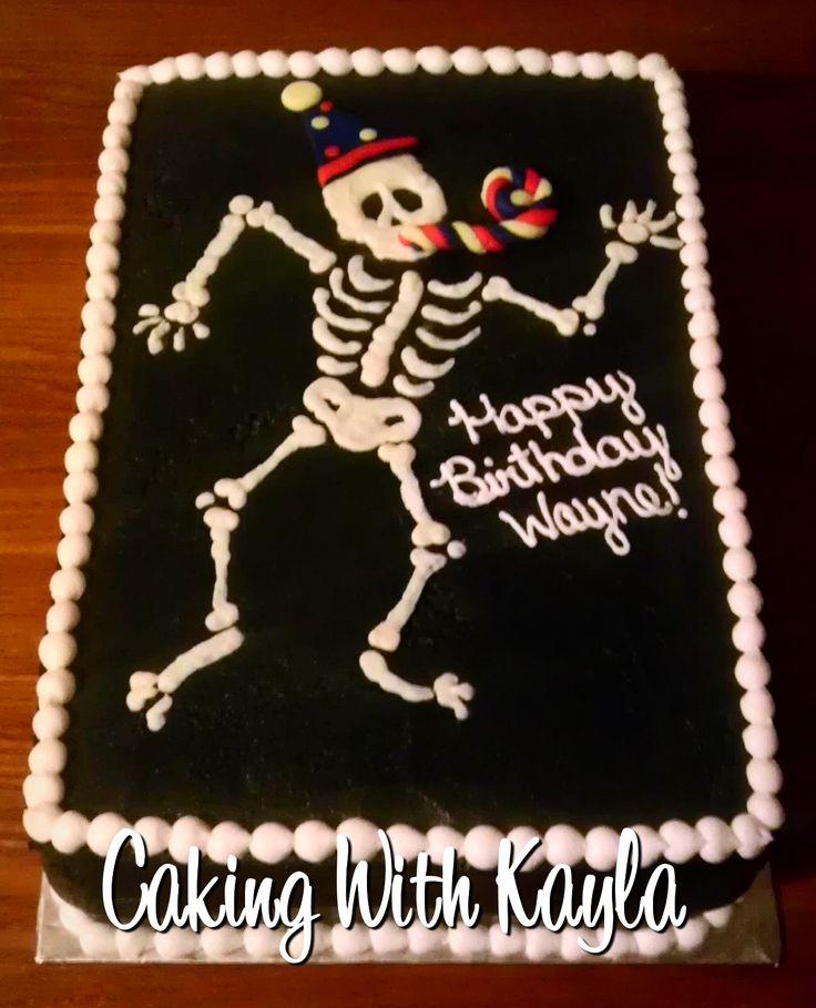 Make Skull Crossbones Cake