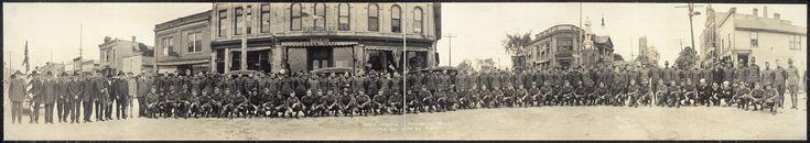Fotos panorámicas de la Primera Guerra Mundial (1914 - 1918 -