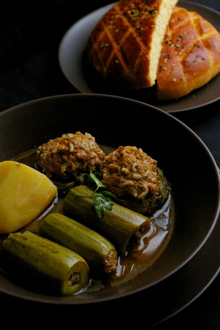 Algerian dolma ( stuffed vegetables )