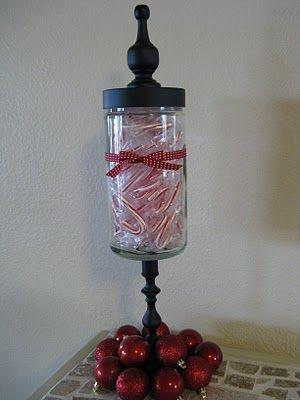 homemade apothecary jar