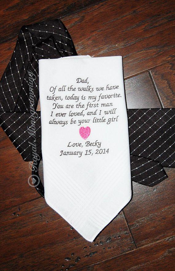 Bruiloft zakdoek gestreepte van RoyalMonogramming op Etsy