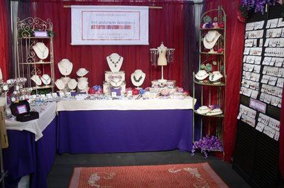 jewelry displays for craft shows | ve been researching online, looking for attractive craft show ...