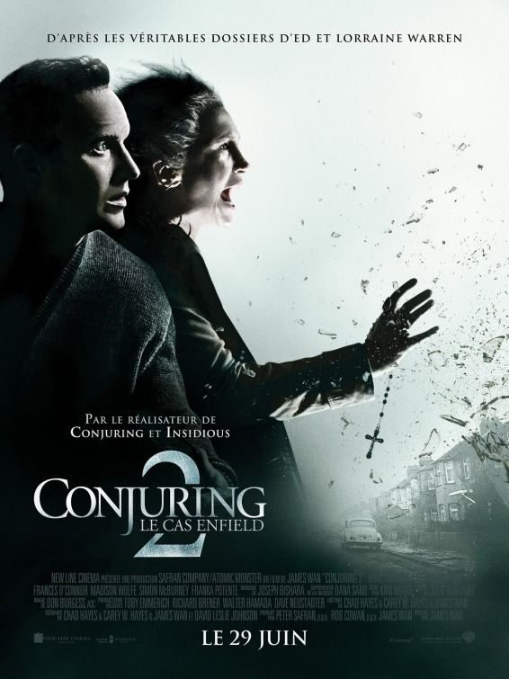 Movie Review: Conjuring 2  #moviereview #conjuring2 #ed #lorraine #horror #movie