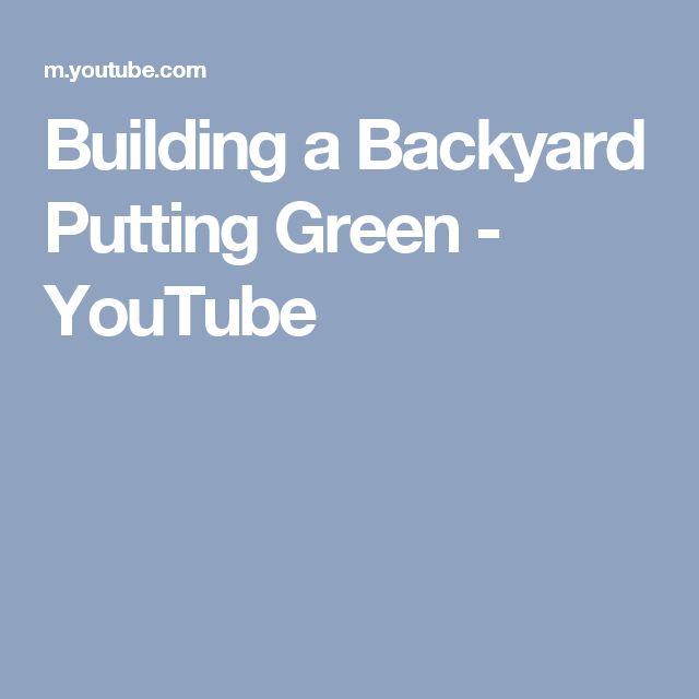 25 best ideas about backyard putting green on pinterest golf golf