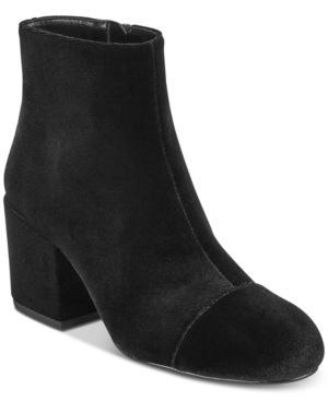 Charles by Charles David Quincey Block-Heel Booties - Black 11M