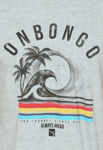 Camiseta Onbongo Beach Azul - Marca Onbongo