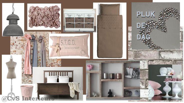 Pinterest Stoere Slaapkamer : Stoer lieflijke meidenkamer ...