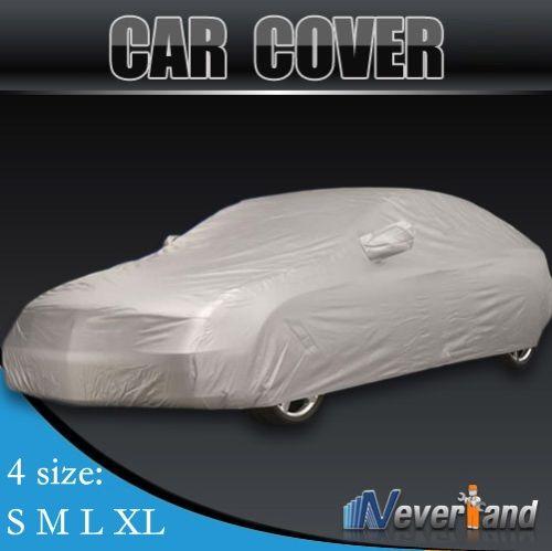 Indoor Luar Ruangan Penuh Mobil Penutup Sun UV Salju Debu Perlindungan Tahan Ukuran Sml XL Mobil Meliputi Gratis pengiriman