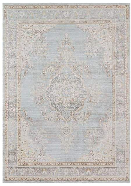 Carina Synthetic Rug Porcelain Blue Momeni rugs