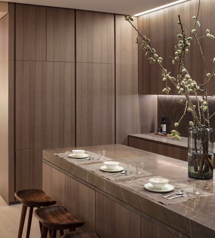A model residence at Tadao Ando's apartment block in New York offers a glimpse inside the Japanese architect's first residential building outside Asia.