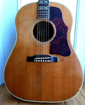 1957 Vintage Gibson Country Western Acoustic Guitar