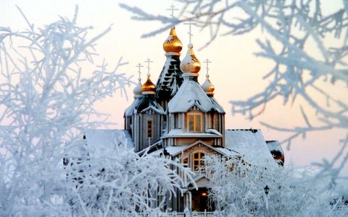Russische Weihnachten Weihnachten in Russland weihnachtsbaum festltafel rote…
